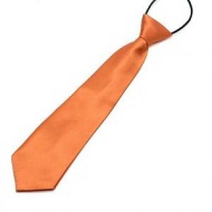 Orange børneslips
