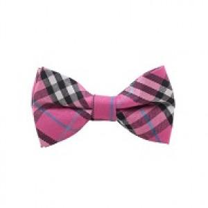 Skotskternet børnebutterfly (pink)