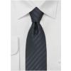 Smalt sortstribet silkeslips