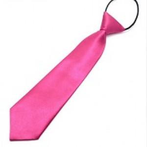 Pink børneslips