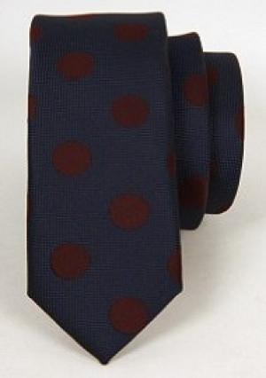 Blåt Slips inkl. lommeklud