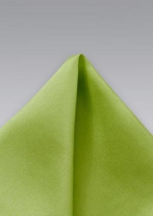 Limegrøn silkeklud