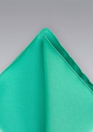 Mintgrøn silkeklud