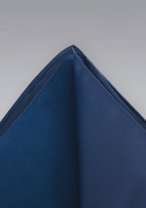 Mørkeblå silkeklud
