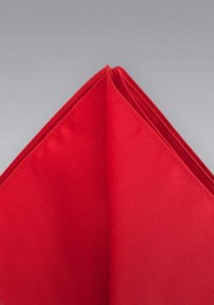 Rød silkeklud