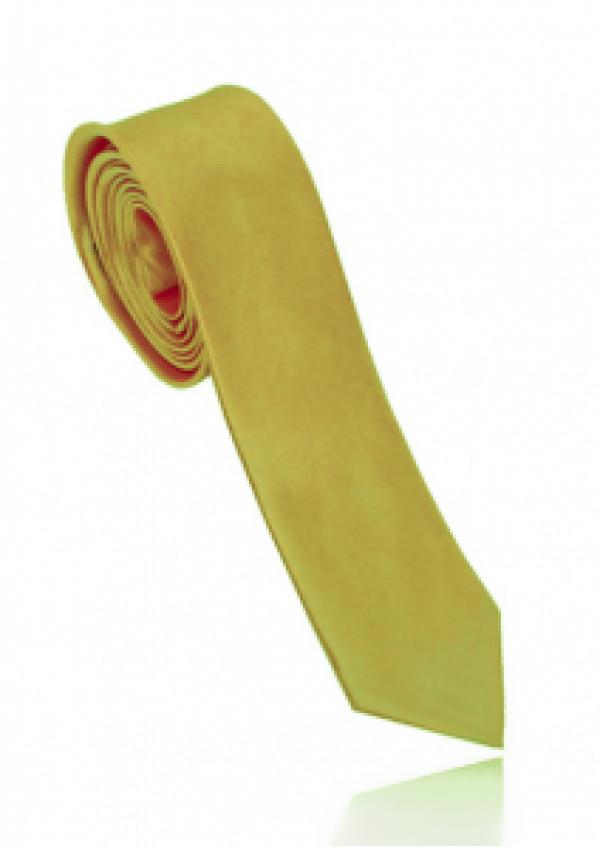 Smalt guld slips i polyester