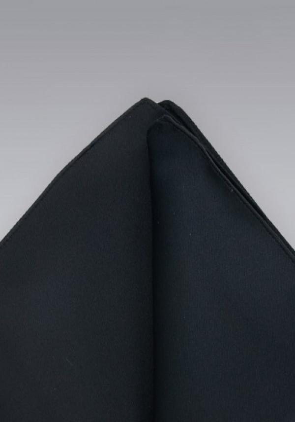 Flot sort silkeklud