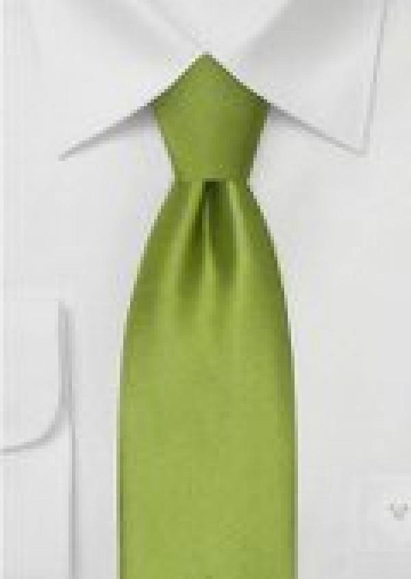 limegrønt silkeslips til børn