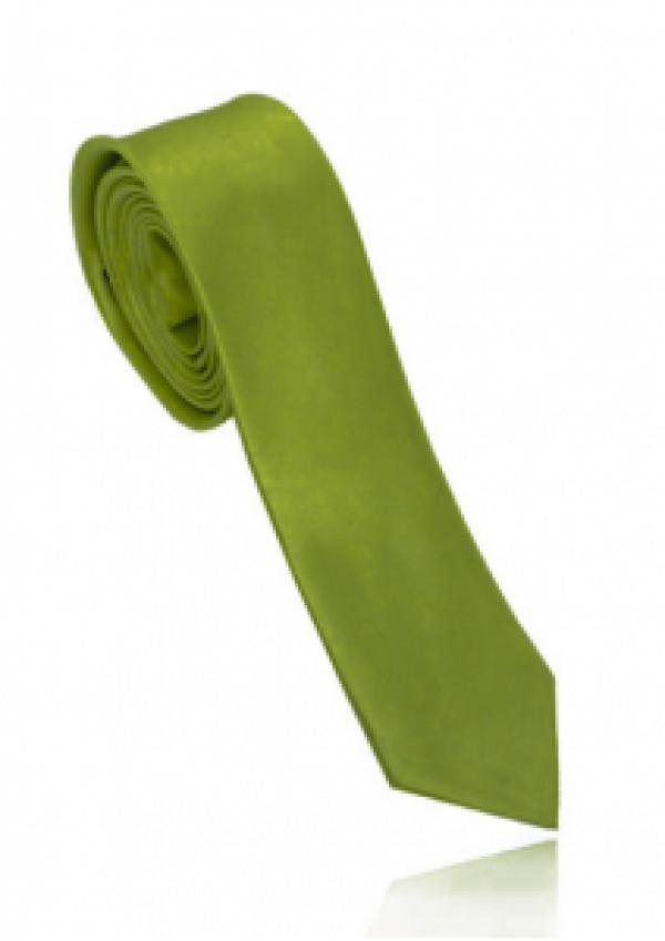 Smalt limegrønt slips