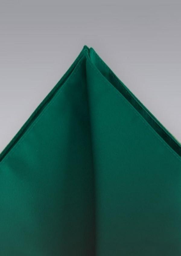 Mørkegrøn silkeklud